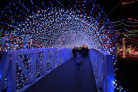 broken arrow christmas lights christmas light bridge christmas public holidays pixoto