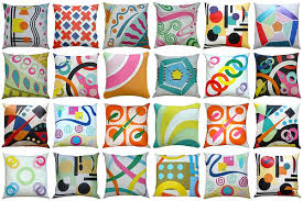 Creative pillows the main spice for beautiful living room