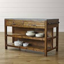 kitchen wood furniture reclaimed wood furniture crate and barrel