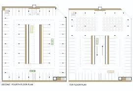 parking lot floor plan cross laminated timber parking garage for glenwood emily rist