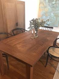 reclaimed teak dining room table reclaimed teak dining table crate barrel in new york ny