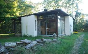 small yet expansive mid mod glass pavilion in rhinebeck 215 000