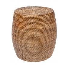 round rattan side table rattan stools rattan furniture