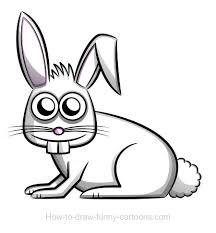rabbit drawing sketching vector