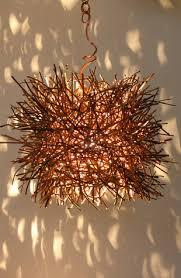 Twig Light Fixtures Birch And Willow Biomass Materials In Lighting Fixtures Lucept