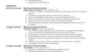 warehouse worker resume resume of a warehouse worker warehouse resume warehouse worker