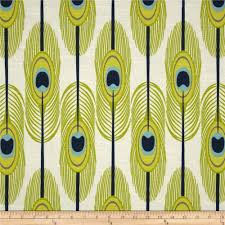 premier prints feathers slub canal feathers home decor fabric in