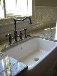 kitchen sinks with backsplash farmhouse sink with backsplash kitchen traditional with none