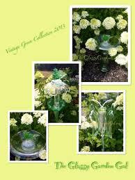 Glass Garden Decor 38 Best Glass Garden Art Bird Baths Images On Pinterest Glass