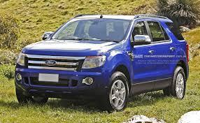Ford Everest Facelift Ford Everest 2687693