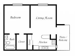 simple 1 bedroom floor plans fujizaki