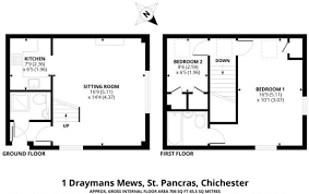 St Pancras Floor Plan Draymans Mews St Pancras Chichester Po19 2 Bed Cottage For Sale
