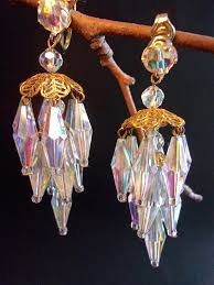 clip on chandelier earrings 256 best jewelry antique vintage earrings images on