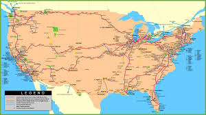 Interactive Map Of Usa by Railway Map Usa My Blog
