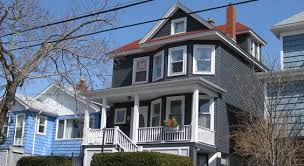charcoal grey siding red roof ideas for our house pinterest