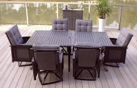 Wicker Patio Dining Sets - 6pc palmetto deep seating