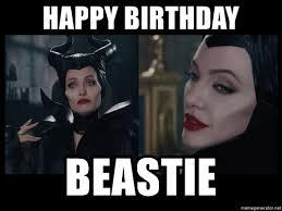 Maleficent Meme - happy birthday beastie maleficent meme generator