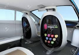 siege auto avant voiture autonome concept intérieur de la voiture les sièges avant équipés
