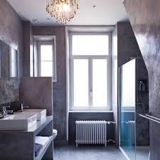 edle badezimmer modernes graues badezimmer lizenzfreie stockfotos bild 8511668