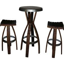 Wine Barrel Patio Table Reserve 48 Inch Wine Barrel Pit Table By Vin De Chat
