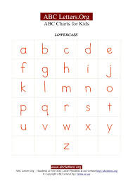 kids letter chart with abc alphabets lowercase abc letters org