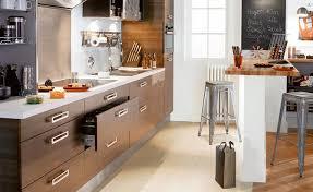 hauteur d une cuisine 2 grâce à un muret mi hauteur maison travaux