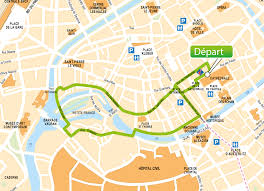 Strasbourg France Map by Explore Strasbourg In The Little Train
