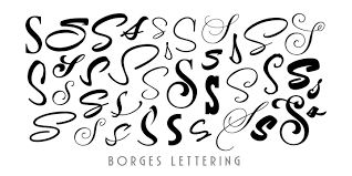borges lettering myfonts