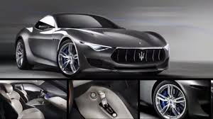 maserati alfieri interior today maserati alfieri 2017 reviews youtube