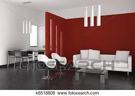 soggiorno sala da pranzo archivio illustrazioni moderno interno con soggiorno sala da