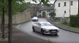 2018 audi a7 sportback convoy spied making final preparations for