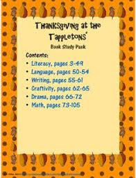 thanksgiving at the tappletons speech language