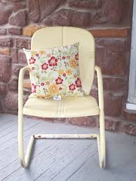 Old Fashioned Metal Outdoor Chairs by Vintage Metal Chair Home And Garden Pinterest Vintage Metal