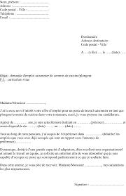 lettre de motivation en cuisine exemple lettre candidature exemple de lettre de préavis giga media