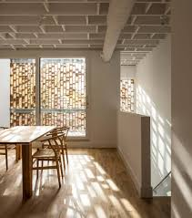 modern infill house design four storey duplex in toronto canada