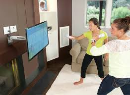 ergotron lx hd wall mount swing arm wall mounted arm interactive tv or monitor mount arm ergotron