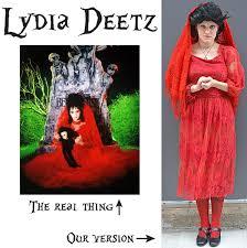 lydia deetz costume angela dean 80 s instructor lydia deetz