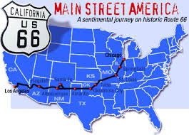 map us highway route 66 national route 66 links