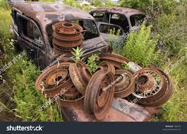 old rusty cars old cars rusted wheels stock photo 189373 shutterstock