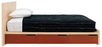 minimalist aesthetic bedroom furniture design blu dot bedframe