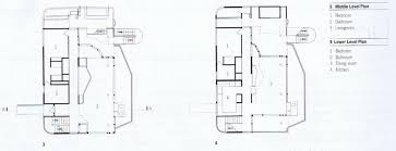 richard meier douglas house plan google search construction