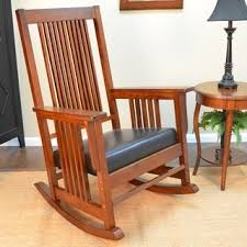 Wood Rocking Chair Rocking Chairs Living Room Chairs Shop The Best Deals For Nov