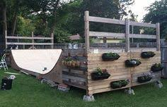 Backyard Skate Ramps by Trench
