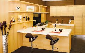 best european style kitchen cabinets with cream color maple wood