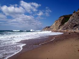 block island is a secluded little island 10 miles south of the
