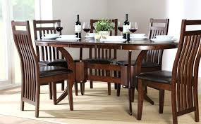 oval dining table set for 6 oval dining room table sets ipbworks com