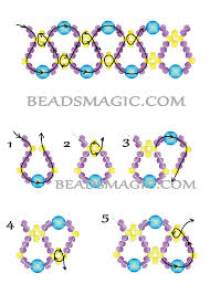free beading tutorial necklace pattern 2 jewelry to try