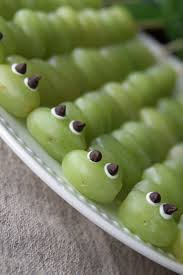 healthy and fun snack for kids u2013 caterpillar grape kabobs a