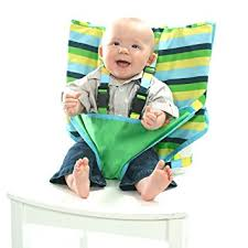 High Chair For Infants Amazon Com My Little Seat Travel High Chair Seaside Stripes