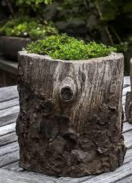 Faux Stone Planters faux bois round pot planter products pinterest faux bois and